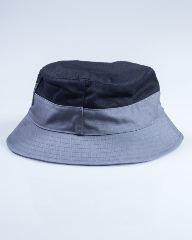 MASS BUCKET HAT POCKET BASE BLACK-GREY