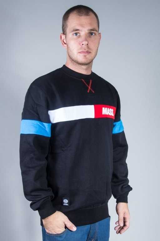 MASS CREWNECK HELLO BLACK