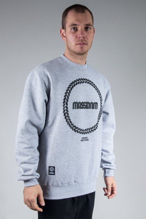 MASS CREWNECK RING MELANGE