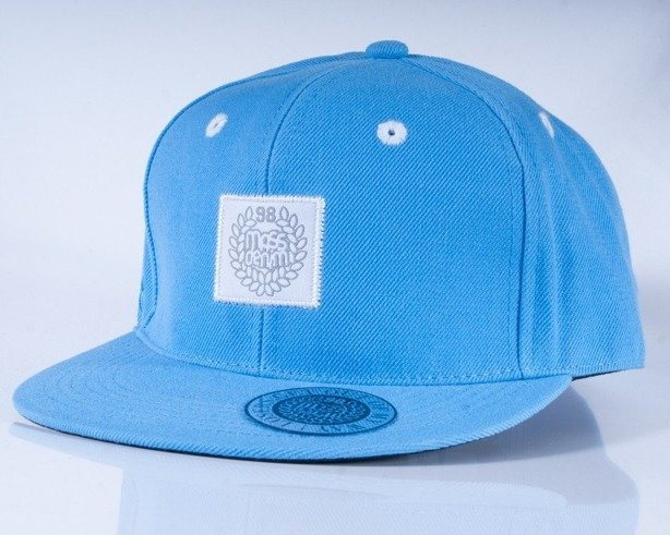MASS CZAPKA FULLCAP BASE BLUE