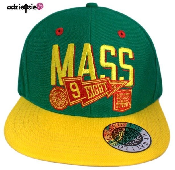 MASS CZAPKA SNAPBACK WINNER GREEN