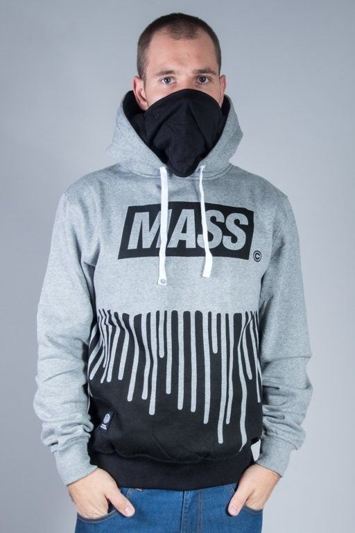 MASS HOODIE COVER GREY