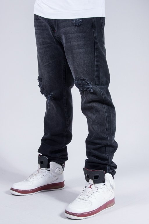 MASS JEANS CONVERSION TAPERED BLACK