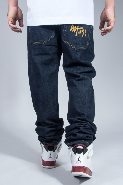 MASS JEANS SIGNATURE TAPERED FIT DARK