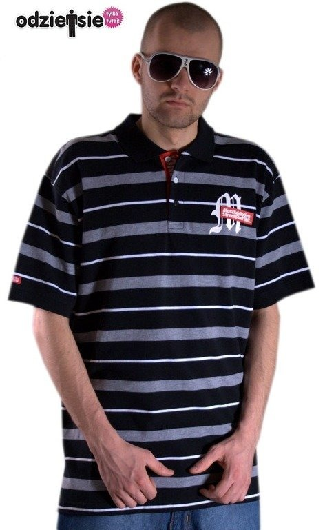 MASS KOSZULKA POLO HOMEBOY GREY