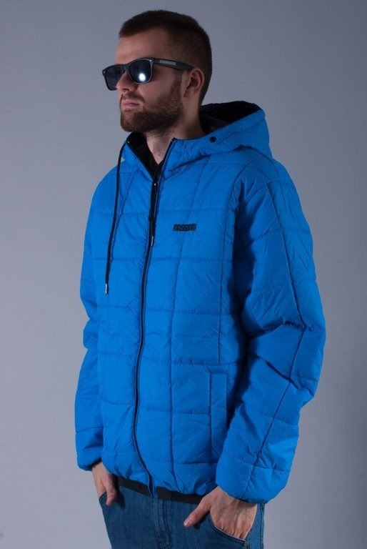 MASS KURTKA BASE 14 FW BLACK-BLUE