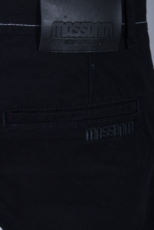 MASS SPODNIE CHINO CLASSIC SNEAKERS BLACK