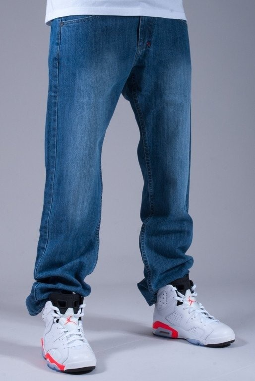 MASS SPODNIE JEANS AMBITION BLUE