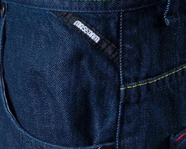 MASS SPODNIE JEANS BAGGY COMPETITION DARK BLUE