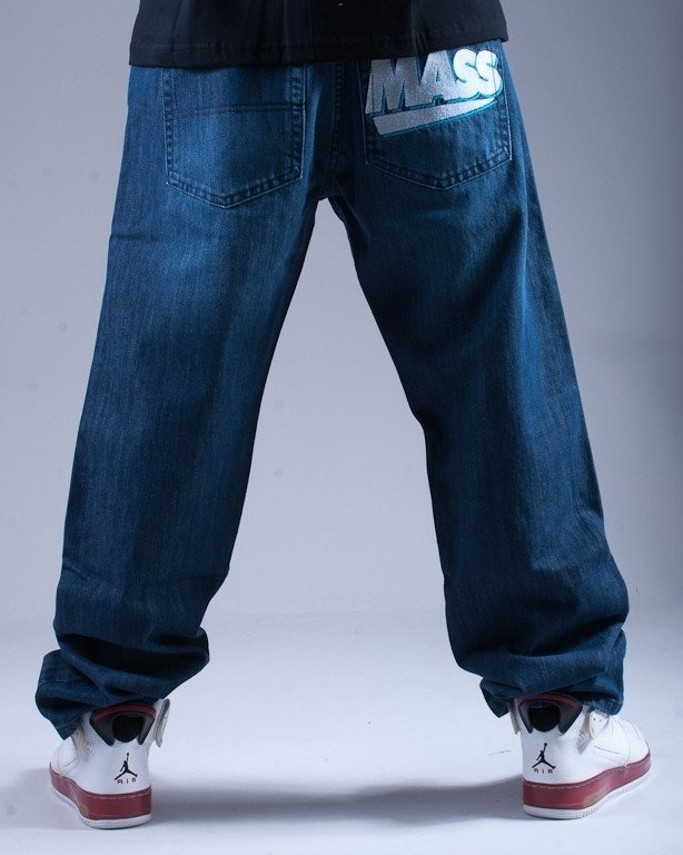 MASS SPODNIE JEANS REGULAR LEGEND BLUE