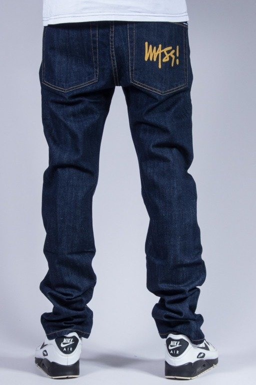 MASS SPODNIE JEANS SIGNATURE DARK