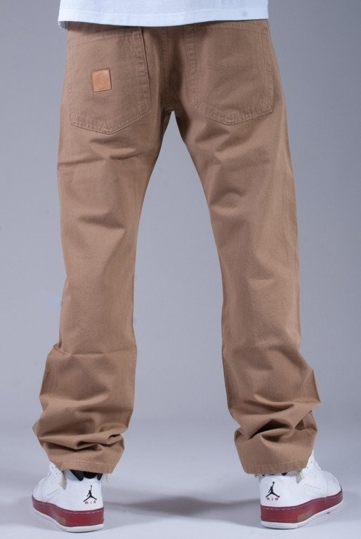 MASS SPODNIE PANTS BASE 014 LINE BEIGE