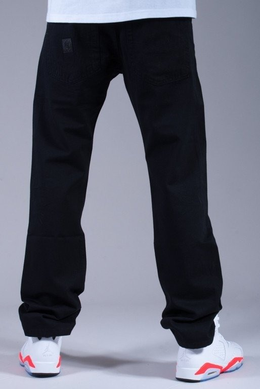 MASS SPODNIE PANTS BASE 014 LINE BLACK