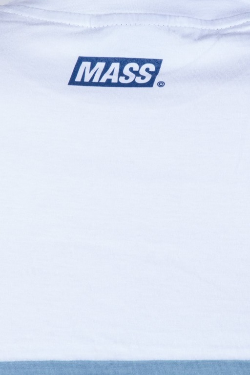 MASS T-SHIRT HORIZON WHITE-STEEL