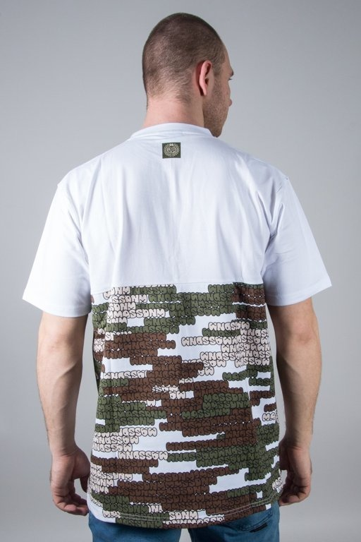 MASS T-SHIRT PATH CAMO WHITE