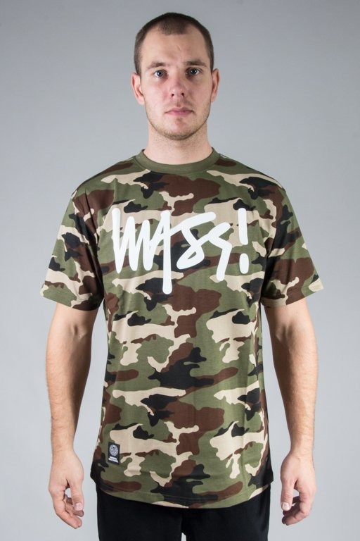 MASS T-SHIRT SIGNATURE CAMO