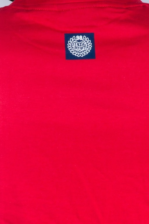 MASS T-SHIRTS LINES RED-NAVY