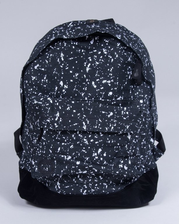 MI PAC BACKPACK SPLATTERED BLACK-WHITE