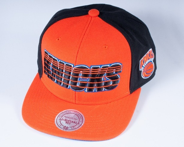 MITCHELL & NESS CZAPKA SNAPBACK EU012 NEW YORK KNICKS