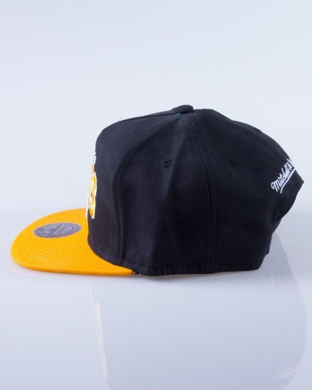 MITCHELL & NESS CZAPKA SNAPBACK EU178 ARCH NUBUCK LOS ANGELES LAKERS