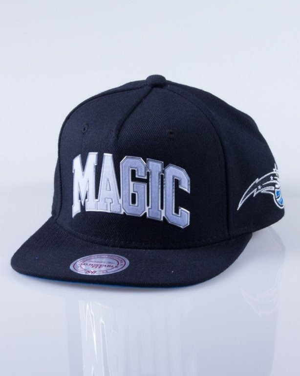 MITCHELL & NESS CZAPKA SNAPBACK EU179 ORLANDO MAGIC SONIC BLACK