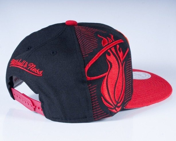 MITCHELL & NESS CZAPKA SNAPBACK NJ10Z MIAMI HEAT