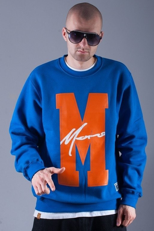MORO BLUZA BEZ KAPTURA BIG M PARIS BLUE-ORANGE
