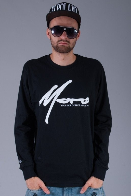 MORO LONGSLEEVE PARIS BLACK-WHITE