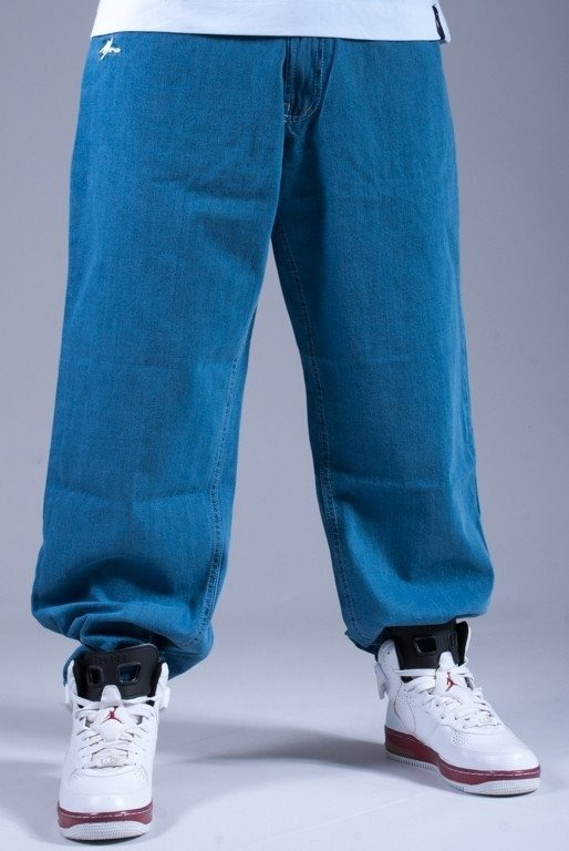 MORO SPODNIE JEANS 78 BEGGY LIGHT BLUE