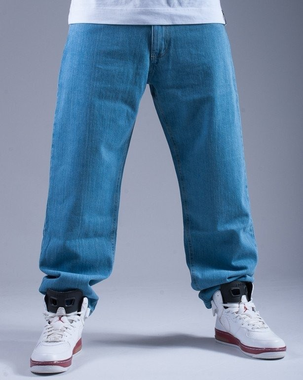 MORO SPODNIE JEANS CROSS LIGHT BLUE