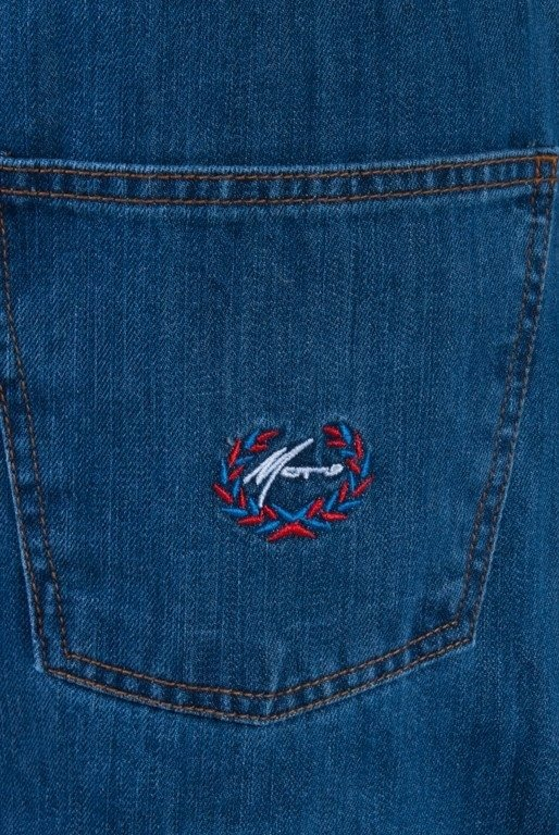 MORO SPODNIE JEANS HAFT LAUR PARIS MEDIUM