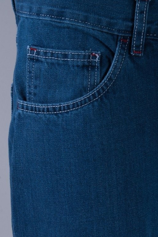 MORO SPODNIE JEANS LATTERS NORMAL MEDIUM BLUE