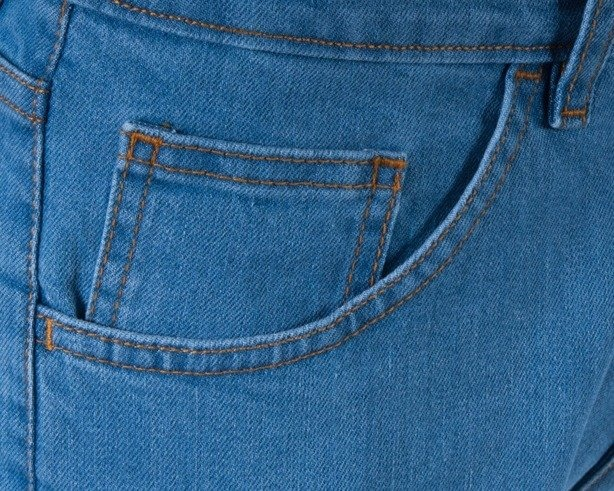 MORO SPODNIE JEANS LAUR SLIM LIGHT BLUE