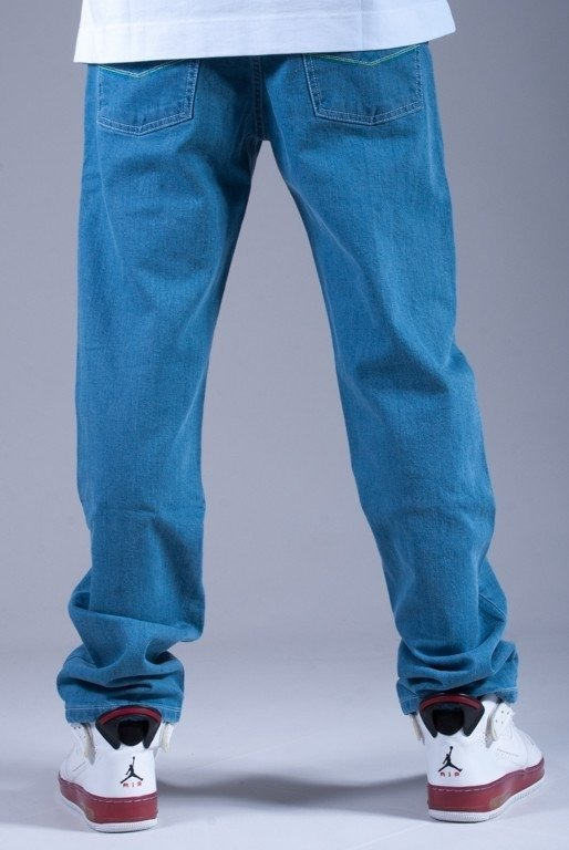 MORO SPODNIE JEANS M SLIM LIGHT BLUE