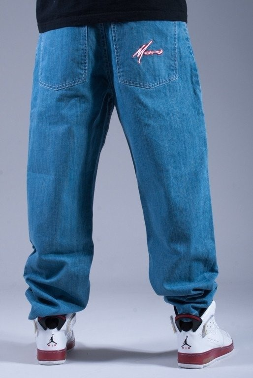 MORO SPODNIE JEANS PARIS LIGHT BLUE