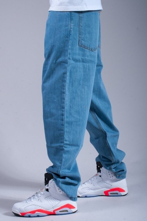 MORO SPODNIE JEANS SMALL 78 LIGHT BLUE