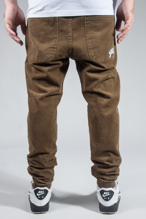 MORO SPORT PANTS CHINO JOGGER MINI PARIS BROWN