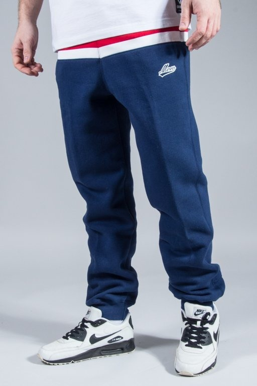MORO SPORT SWEATPANTS TWO TONE NAVY
