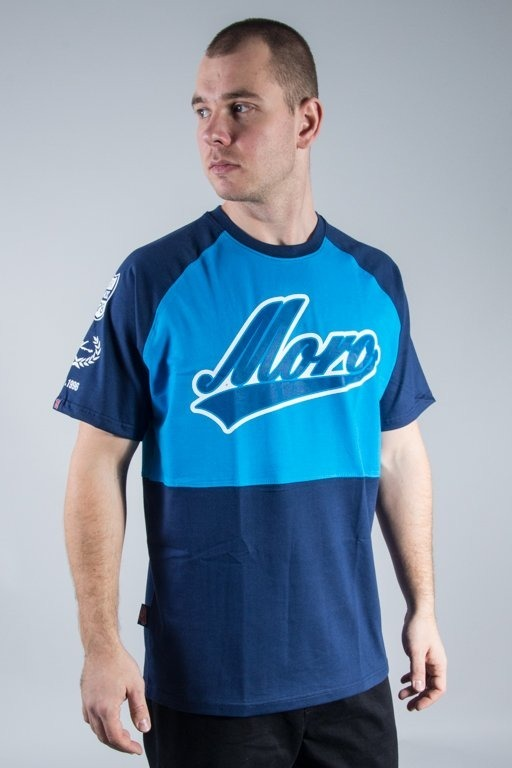 MORO SPORT T-SHIRT DOUBLE BASEBALL NAVY