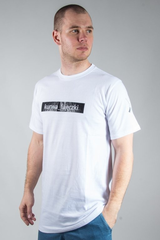 NBL x BLIND WEAR T-SHIRT FAJECZKI WHITE