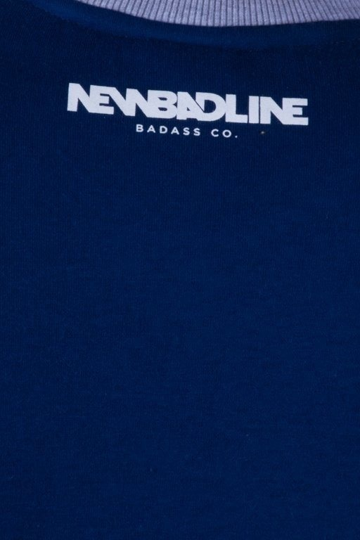 NEW BAD LINE BLUZA BEZ KAPTURA ICON NAVY-BRICK