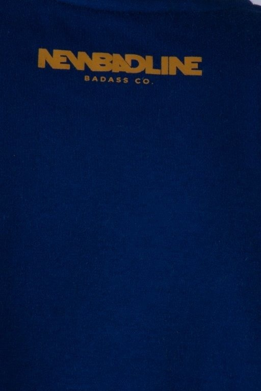 NEW BAD LINE BLUZA BEZ KAPTURA MARKER NAVY-CAMEL