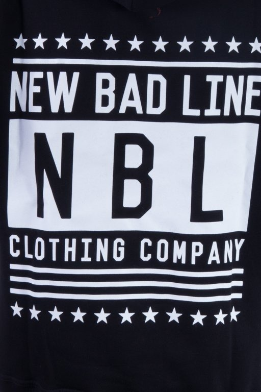 NEW BAD LINE BLUZA Z KAPTUREM SWAG BLACK