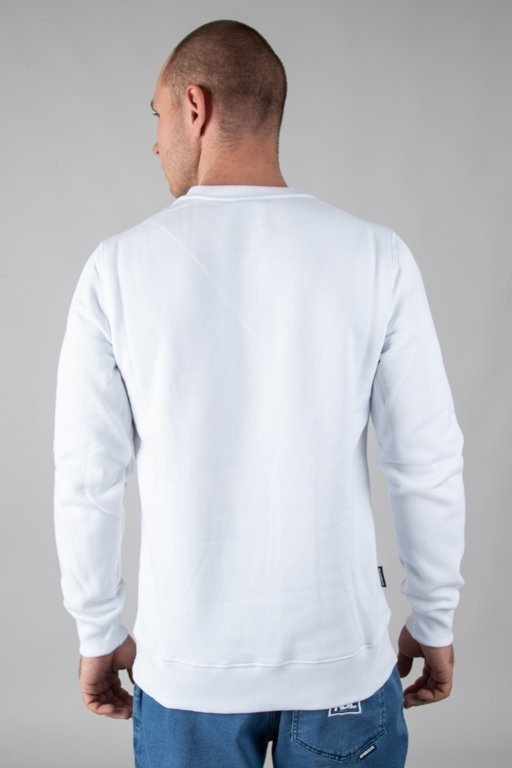 NEW BAD LINE CREWNECK ASS WHITE