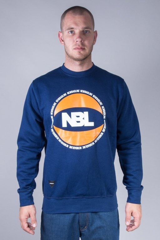 NEW BAD LINE CREWNECK BASKET NAVY