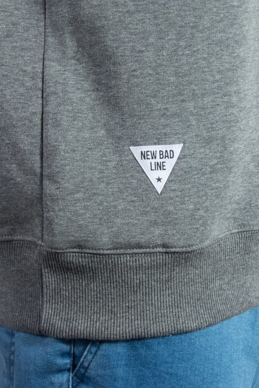 NEW BAD LINE CREWNECK CRIME GREY