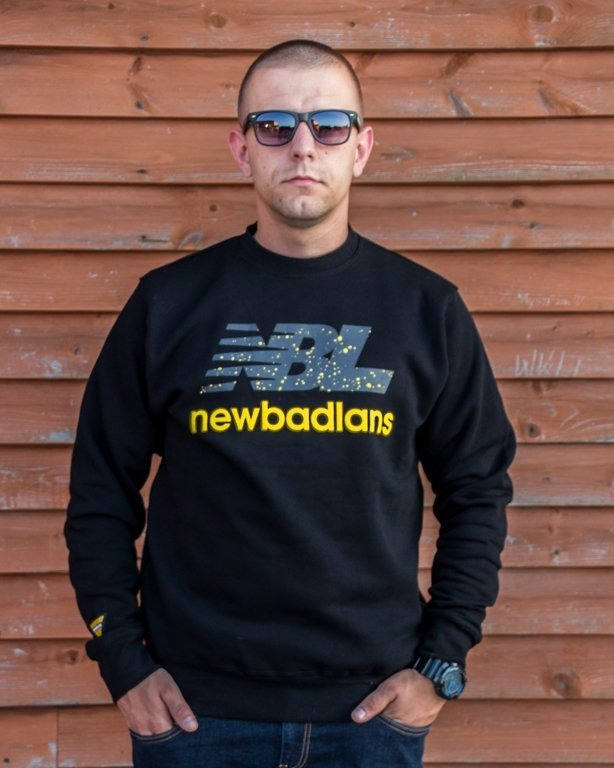 NEW BAD LINE CREWNECK NEWBADLANS BLACK