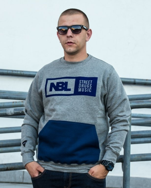 NEW BAD LINE CREWNECK POCKET GREY