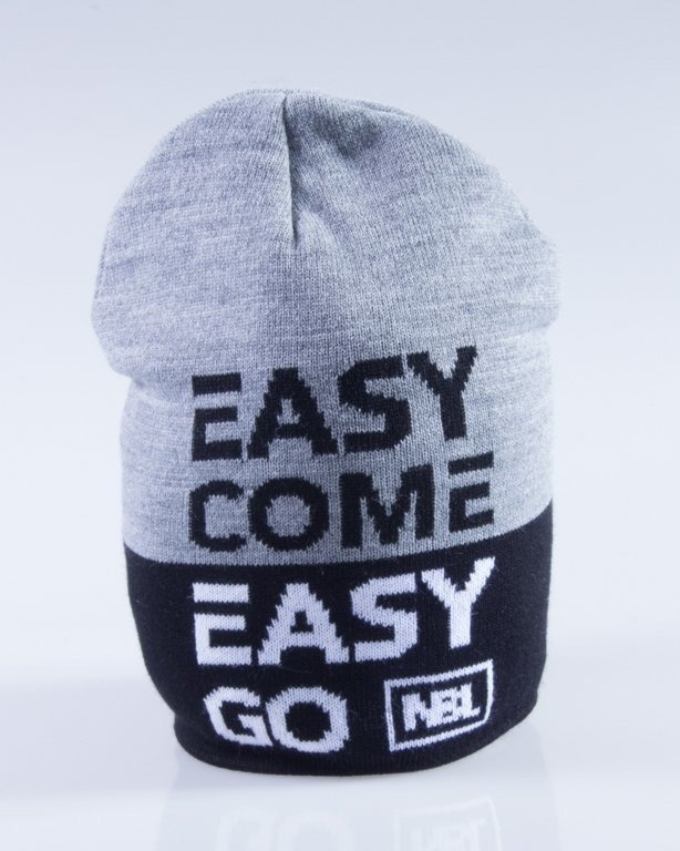 NEW BAD LINE CZAPKA ZIMOWA EASY GREY-BLACK