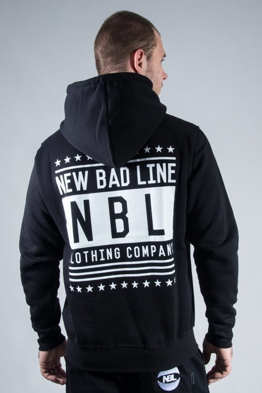 NEW BAD LINE HOODIE SWAG BLACK